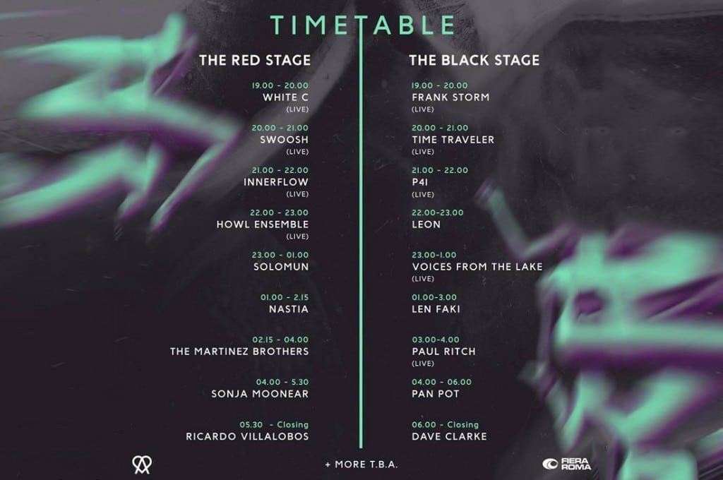 Timetable Amore Festival Ecco A Che Ora Suonano I Dj